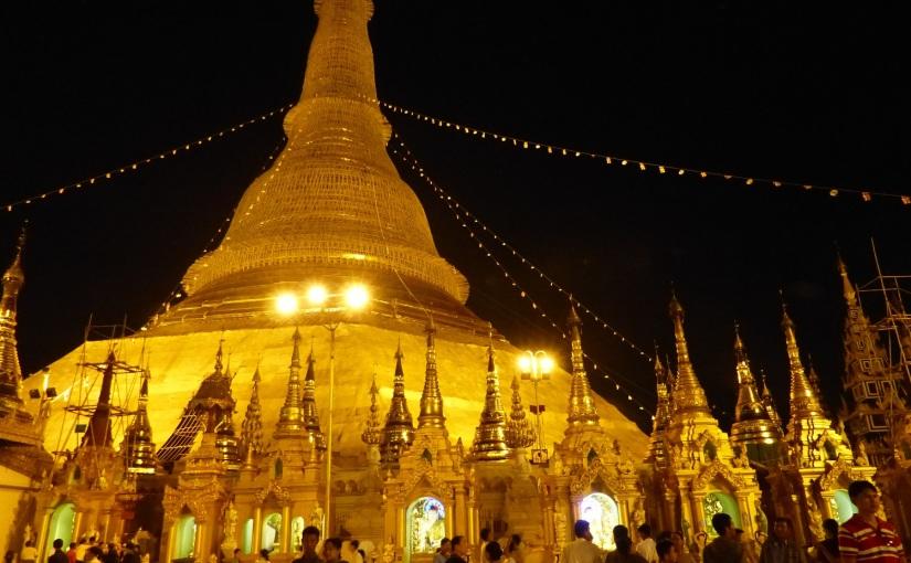 Zauber der Shwedagon /Myanmar