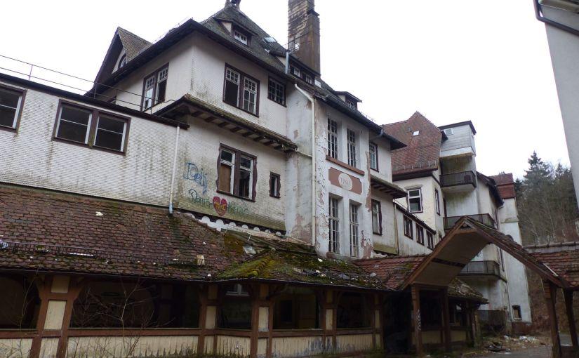 Die alte Heilstätte
